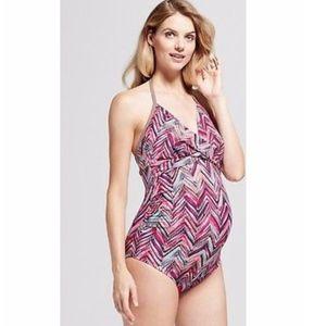 Isabel Maternity by Ingrid & Isabel Pink Swimsuit